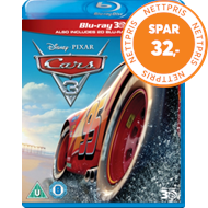 Produktbilde for Biler 3 / Cars 3 (UK-import) (Blu-ray 3D + Blu-ray)