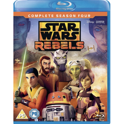 Star Wars Rebels - Sesong 4 (UK-import) (BLU-RAY)