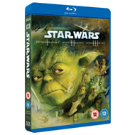 Star Wars Trilogy: Episodes I, II And III (UK-import) (BLU-RAY)