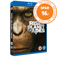 Produktbilde for Rise Of The Planet Of The Apes (UK-import) (BLU-RAY)