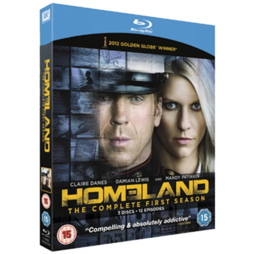 Homeland: The Complete First Season (UK-import) (BLU-RAY)