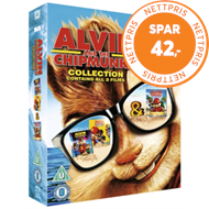 Produktbilde for Alvin And The Chipmunks: Collection (UK-import) (BLU-RAY)