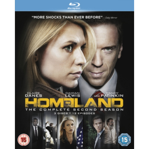 Homeland: The Complete Second Season (UK-import) (BLU-RAY)