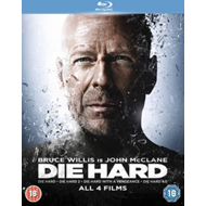 Produktbilde for Die Hard Quadrilogy (UK-import) (BLU-RAY)