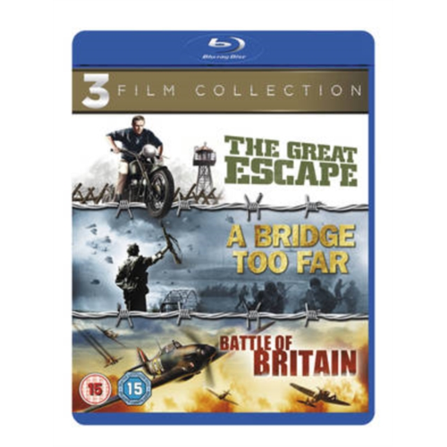 A Bridge Too Far/The Great Escape/Battle of Britain (UK-import) (BLU-RAY)