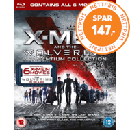 Produktbilde for X-Men And The Wolverine Adamantium Collection (UK-import) (BLU-RAY)