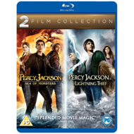 Produktbilde for Percy Jackson And The Lightning Thief/Percy Jackson: Sea Of ... (UK-import) (BLU-RAY)