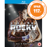 Produktbilde for Rocky: The Heavyweight Collection (UK-import) (BLU-RAY)