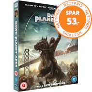 Produktbilde for Dawn Of The Planet Of The Apes (UK-import) (Blu-ray 3D)