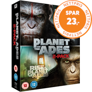 Produktbilde for Rise Of The Planet Of The Apes/Dawn Of The Planet Of The Apes (UK-import) (BLU-RAY)