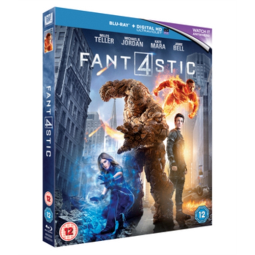 Fantastic Four (UK-import) (BLU-RAY)