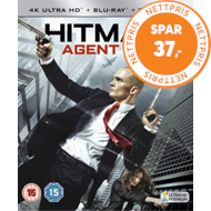 Produktbilde for Hitman: Agent 47 (UK-import) (4K Ultra HD + Blu-ray)