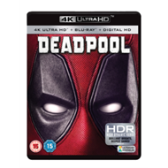 Produktbilde for Deadpool (UK-import) (4K Ultra HD + Blu-ray)