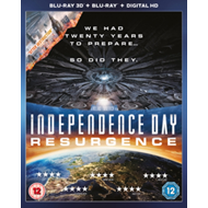 Produktbilde for Independence Day: Resurgence (UK-import) (Blu-ray 3D)