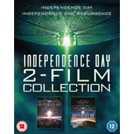 Produktbilde for Independence Day 2 Film Collection (UK-import) (BLU-RAY)
