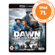 Produktbilde for Dawn Of The Planet Of The Apes (UK-import) (4K Ultra HD + Blu-ray)