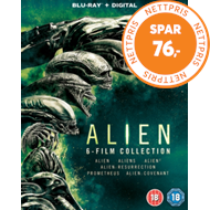 Alien: 6-Film Collection (UK-import) (BLU-RAY)