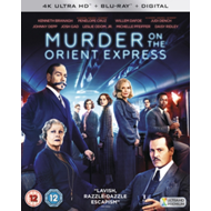Produktbilde for Murder On The Orient Express (UK-import) (4K Ultra HD + Blu-ray)