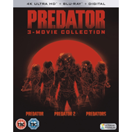 Predator Trilogy (UK-import) (4K Ultra HD + Blu-ray)