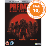 Produktbilde for Predator Trilogy (UK-import) (4K Ultra HD + Blu-ray)
