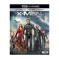 X-Men - 3-Film Collection (UK-import) (4K Ultra HD + Blu-ray)