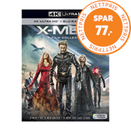 Produktbilde for X-Men - 3-Film Collection (UK-import) (4K Ultra HD + Blu-ray)