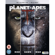 Produktbilde for Planet Of The Apes Trilogy (UK-import) (4K Ultra HD + Blu-ray)