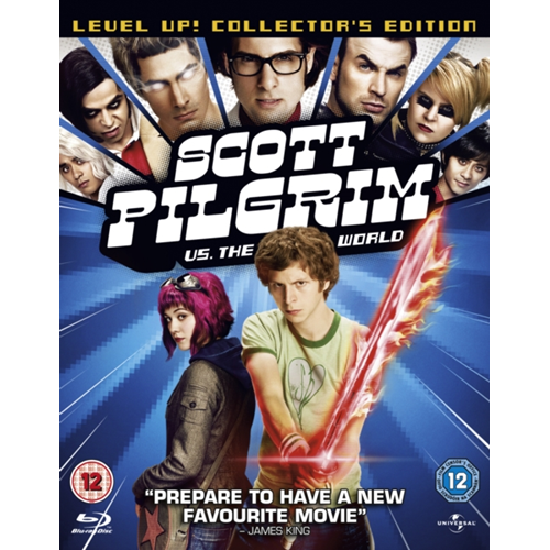 Scott Pilgrim Vs. The World (UK-import) (BLU-RAY)