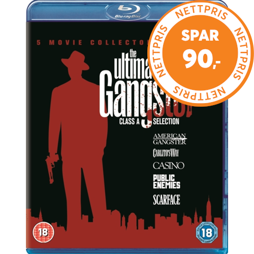 Ultimate Gangster Collection (UK-import) (BLU-RAY)
