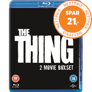 Produktbilde for The Thing (1982)/The Thing (2011) (UK-import) (BLU-RAY)