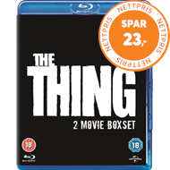 Produktbilde for Thing (1982)/The Thing (2011) (UK-import) (BLU-RAY)