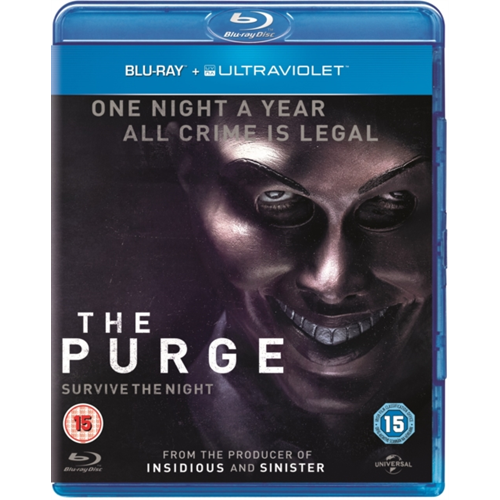The Purge (UK-import) (BLU-RAY)