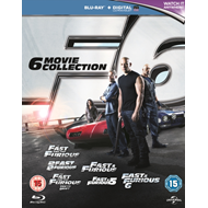 Produktbilde for Fast & Furious 1-6 (UK-import) (BLU-RAY)