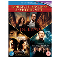 Produktbilde for Da Vinci Code/Angels And Demons/Inferno (UK-import) (BLU-RAY)