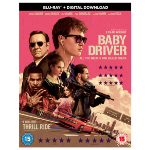 Baby Driver (UK-import) (BLU-RAY)