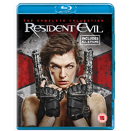 Resident Evil: The Complete Collection (UK-import) (BLU-RAY)