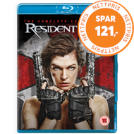 Produktbilde for Resident Evil: The Complete Collection (UK-import) (BLU-RAY)