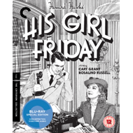 Produktbilde for His Girl Friday - The Criterion Collection (UK-import) (BLU-RAY)