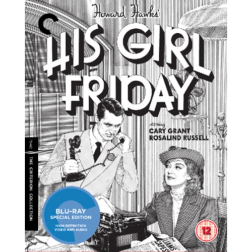 His Girl Friday - The Criterion Collection (UK-import) (BLU-RAY)