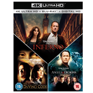 Produktbilde for The Da Vinci Code/Angels and Demons/Inferno (UK-import) (4K ULTRA HD)
