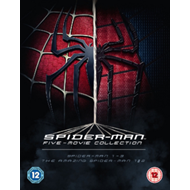 Spider-Man Complete Five Film Collection (UK-import) (BLU-RAY)