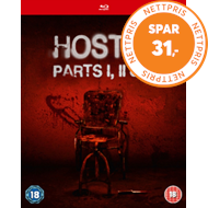 Produktbilde for Hostel 1-3 (UK-import) (BLU-RAY)