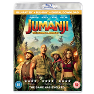 Produktbilde for Jumanji - Welcome To The Jungle (UK-import) (Blu-ray 3D + Blu-ray)