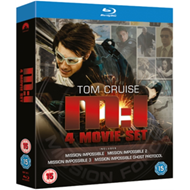 Produktbilde for Mission Impossible 1-4 (UK-import) (BLU-RAY)