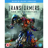 Produktbilde for Transformers: Age Of Extinction (UK-import) (Blu-ray 3D)
