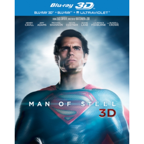 Man Of Steel (UK-import) (BLU-RAY)