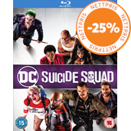 Produktbilde for Suicide Squad (UK-import) (BLU-RAY)