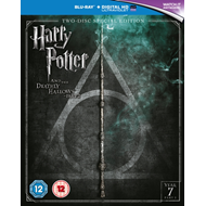 Harry Potter And The Deathly Hallows: Part 2 (UK-import) (BLU-RAY)