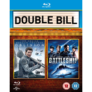 Produktbilde for Oblivion/Battleship (UK-import) (BLU-RAY)