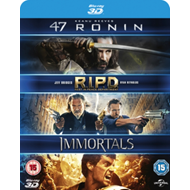 Produktbilde for 47 Ronin/RIPD/Immortals (UK-import) (BLU-RAY)